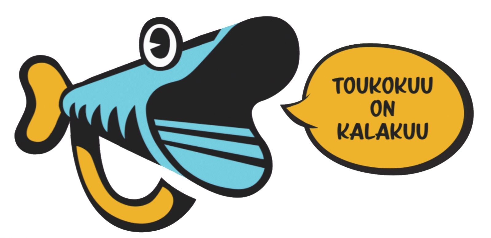 Pro Kalan logo ja teksti: Toukokuu on kalakuu